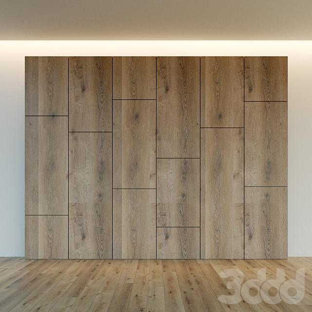 Декоративная стена. Стеновая панель из дерева. 14