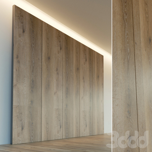 Декоративная стена. Стеновая панель из дерева. 20