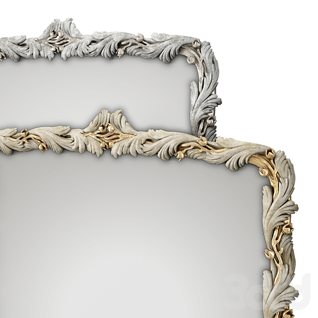 (ОМ) Зеркало / Рама / TV рама Каталина Romano Home