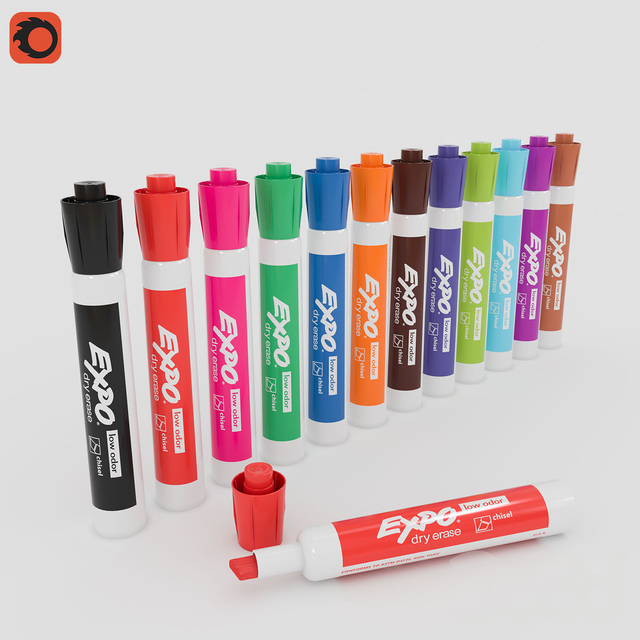 Expo Dry Erase Markers