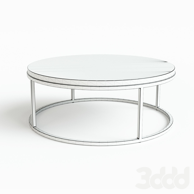 Restoration Hardware NICHOLAS MARBLE ROUND TABLES (cocktail, side, coffee)