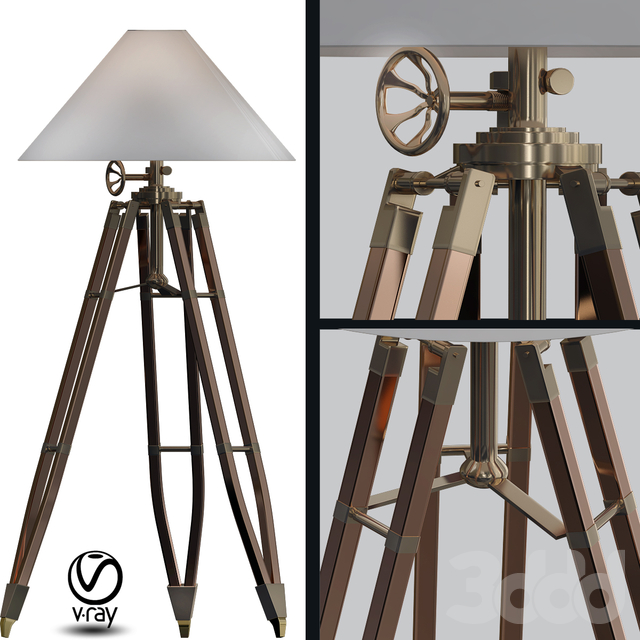 Telescopo Floor Lamp