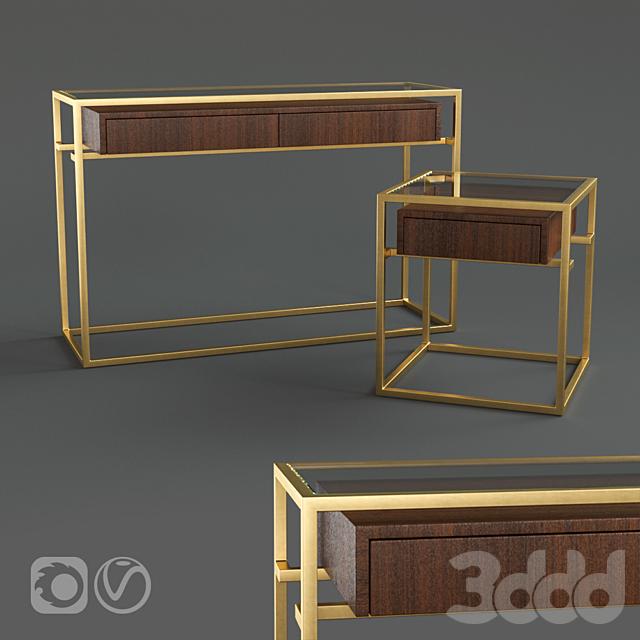 Restoration Hardware KENNEN CONSOLE, SIDE TABLE
