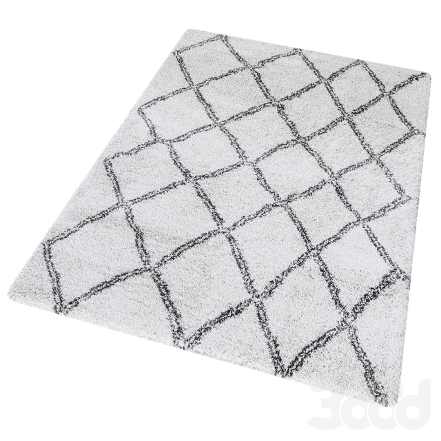 Aksfrytle Rug 7683 cream-grey