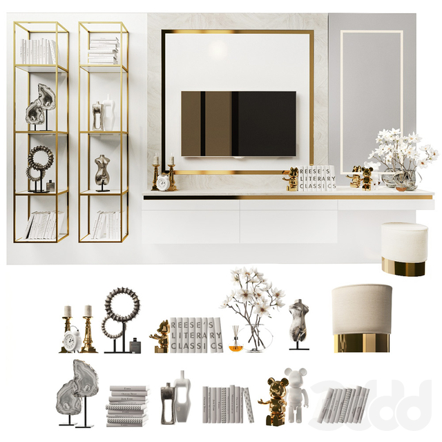 Dressing table and TV stand_8
