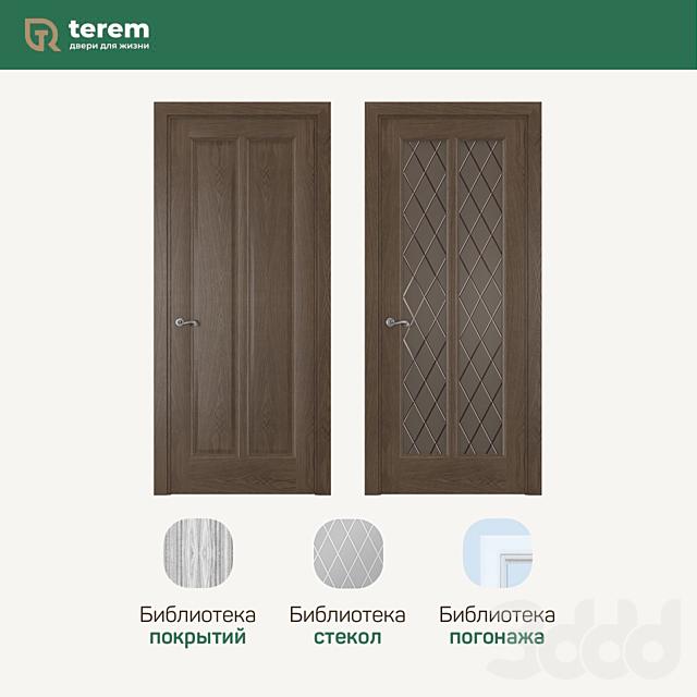 """Фабрика межкомнатных дверей """"Терем"""": модель Garda 5 (коллекция Neoclassic)"""