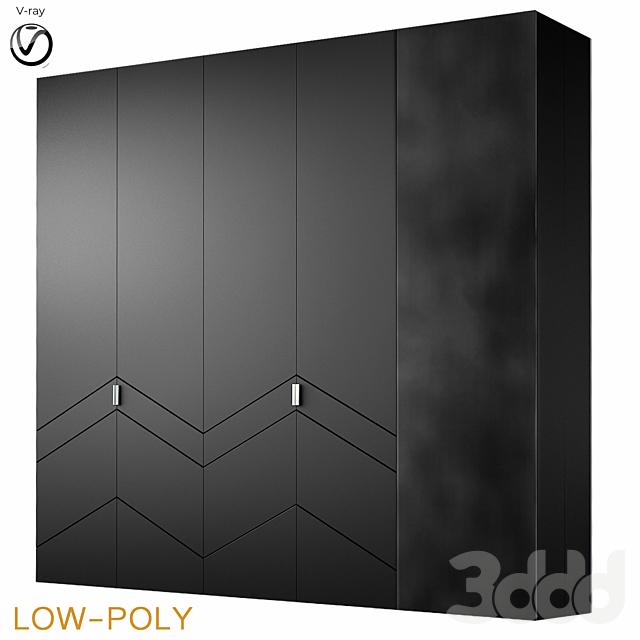 Archemy designs wardrobe (low poly)