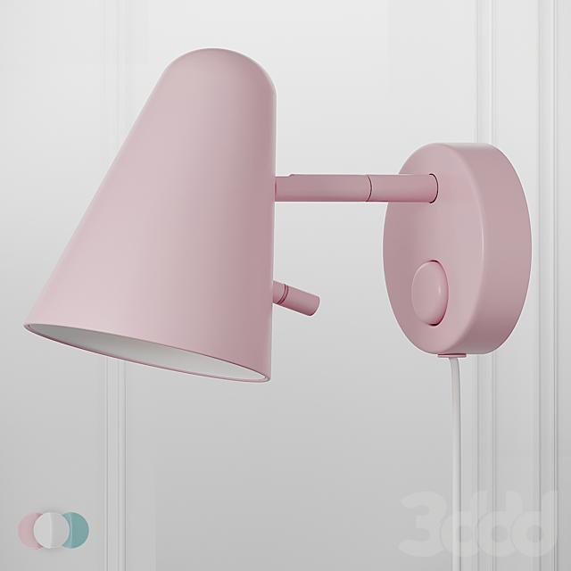 FUBBLA LED Wall Lamp Ikea 3 Colors