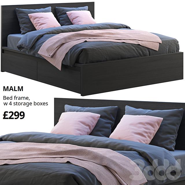 Ikea Malm bed 3