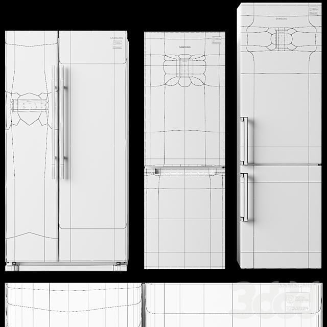 Набор холодильников Samsung