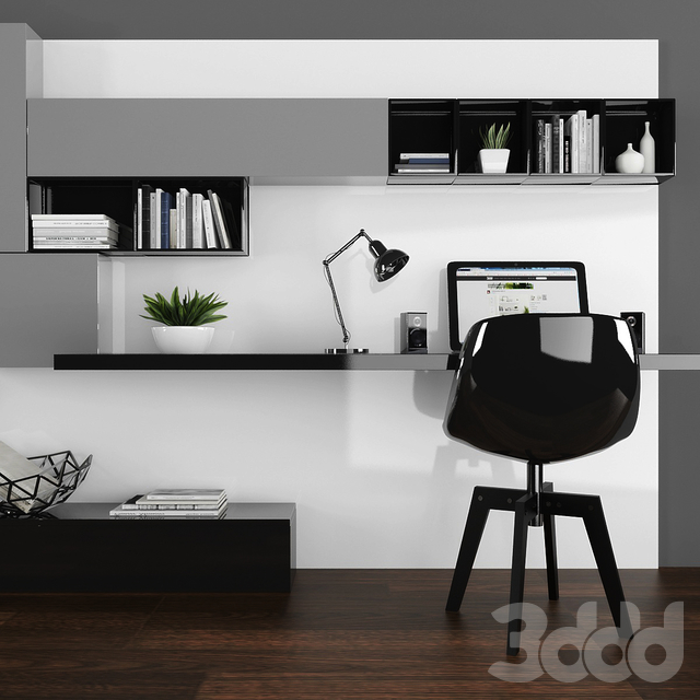 TV stand & workplace set 063