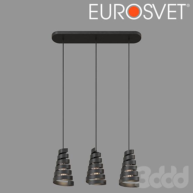 ОМ Подвесной светильник в стиле лофт Eurosvet 50058/3 Storm