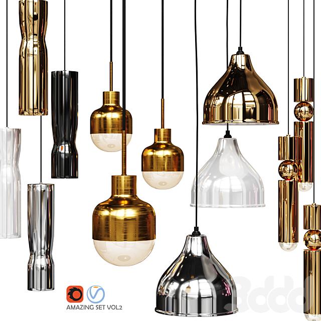 Four Pendant Lights amazing set vol2