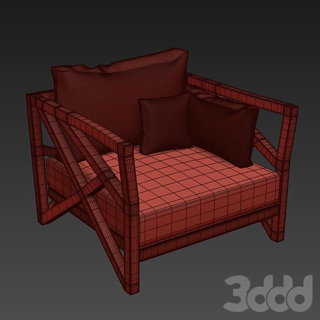 saga lounge armchair