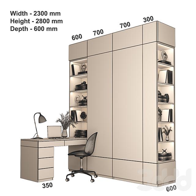 Мебельная композиция 87
