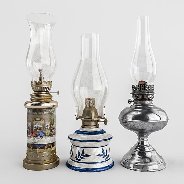 Набор старых ламп