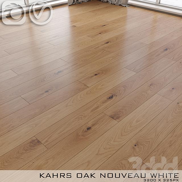 Паркет Kahrs Oak Nouveau White