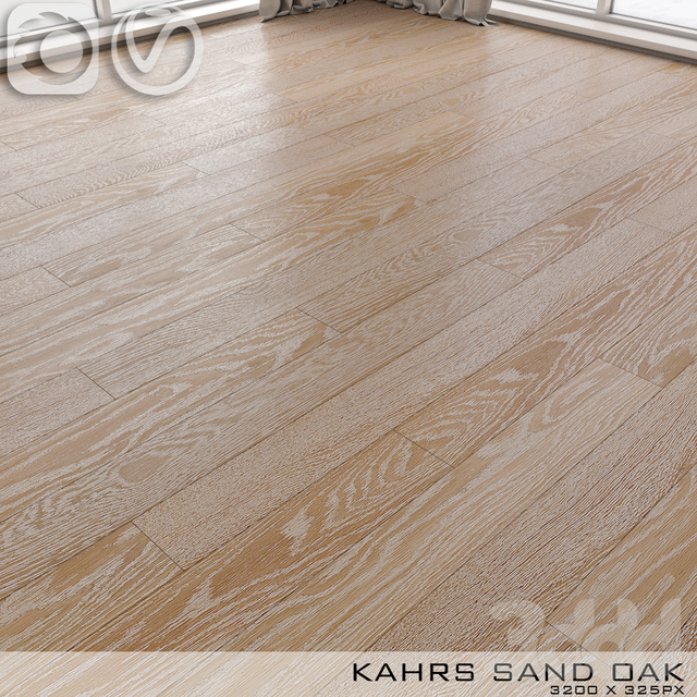 Паркет Kahrs Sand Oak