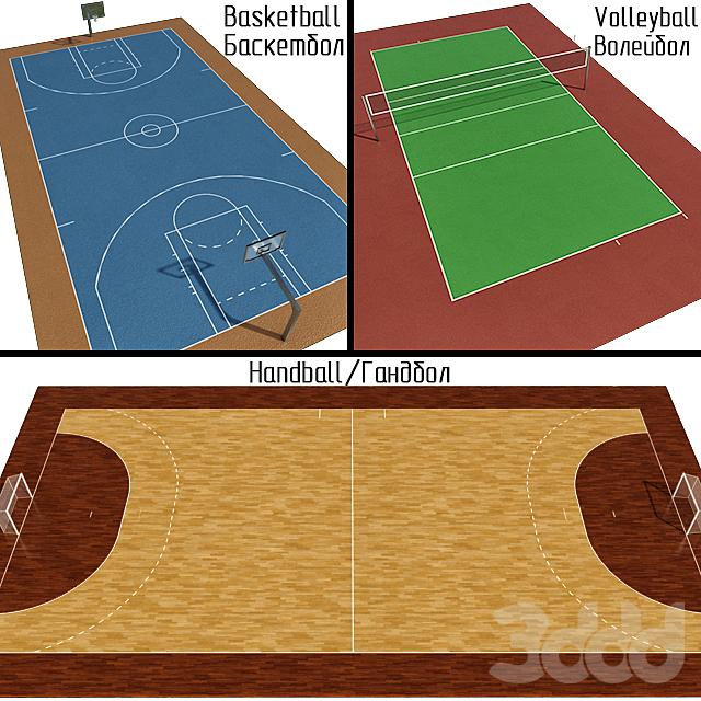 Гандбол / Баскетбол / Волейбол