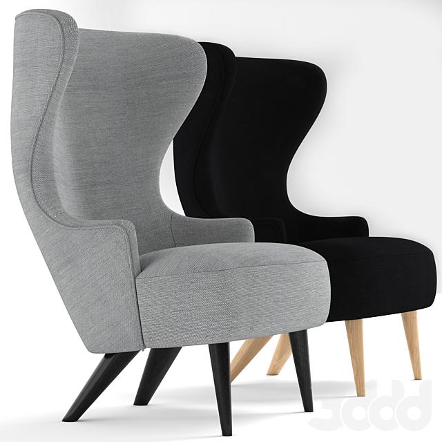 Tom Dixon Micro Wingback chair