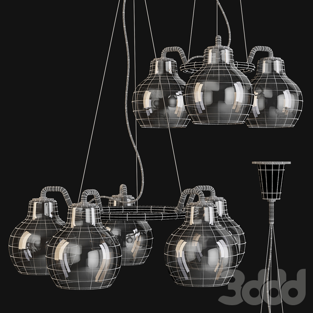Louis Poulsen: Pendant Lamps - VL Ring Crown 3 and 5