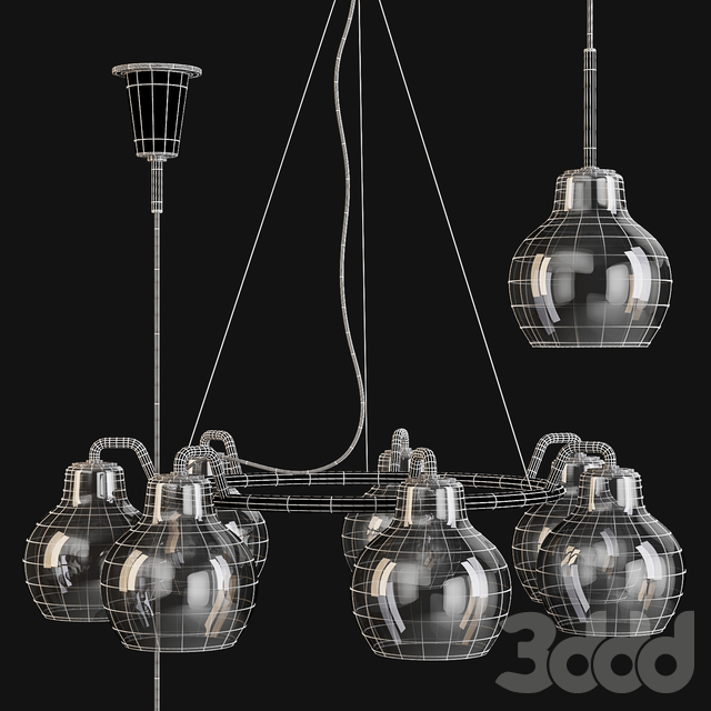 Louis Poulsen: Pendant Lamps - VL Ring Crown 1 and 7