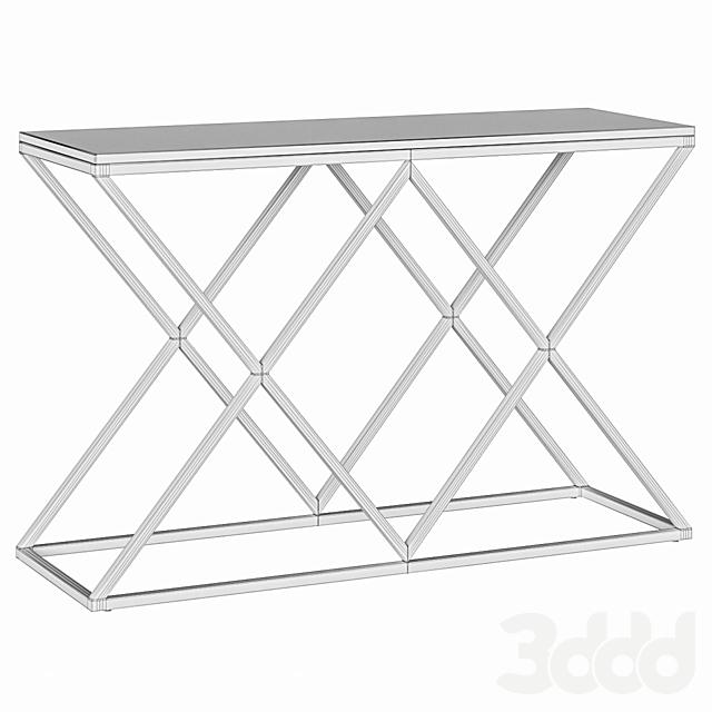 Консоль 2X White Marble Loft Concept