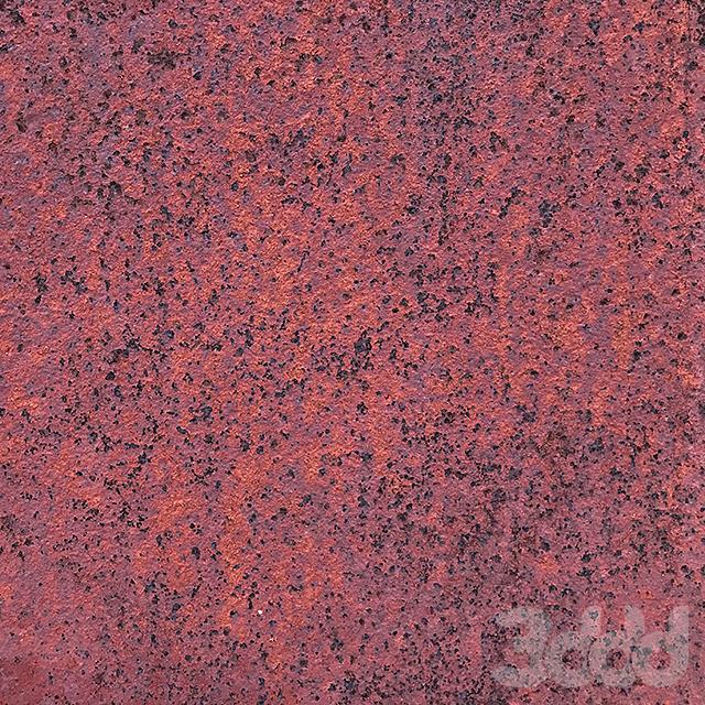 Granit rust metal