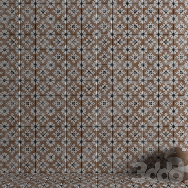 Wall tiles 222 Classic Cotto Set 3