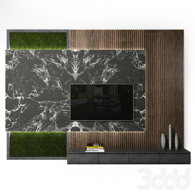 Tv wall set_ 04
