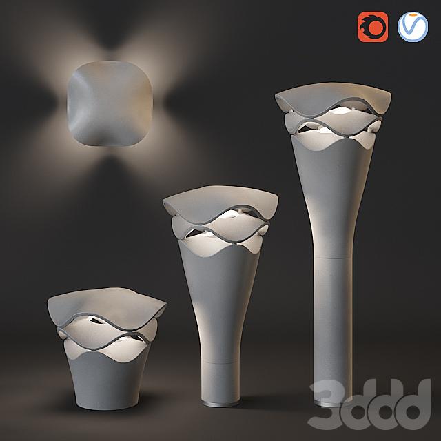 Уличные декоративные светильники Bover Cornet