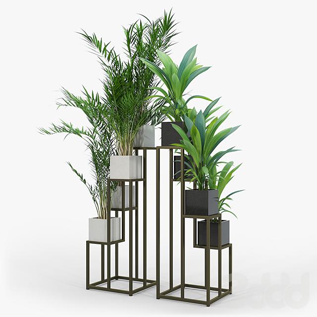 Quadrant Plant Stand 02