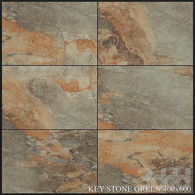 Yurtbay Seramik Key Stone Green 400x600