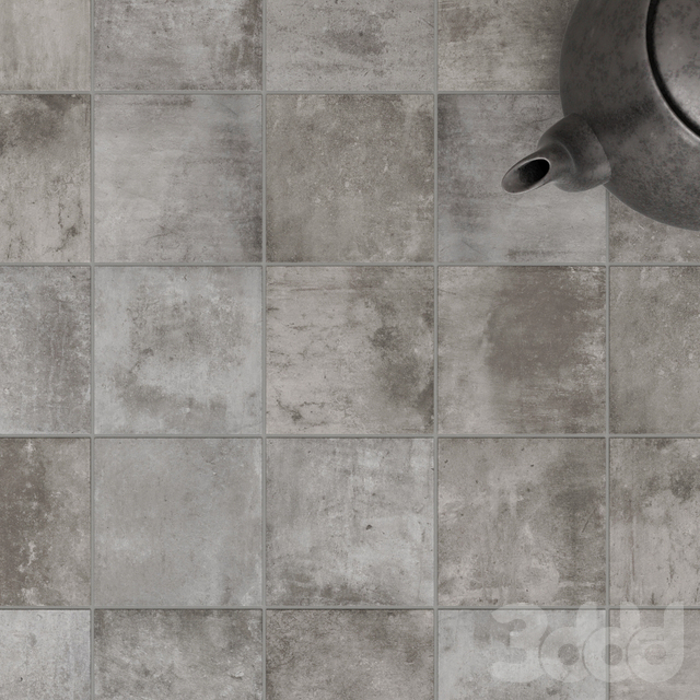 ZYX by Colorker AMAZONIA GREY tile set