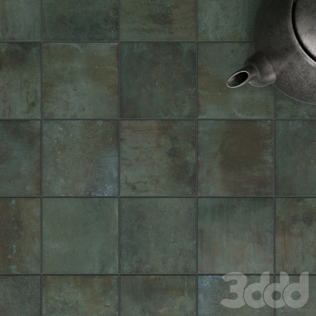 ZYX by Colorker AMAZONIA EMERALD tile set
