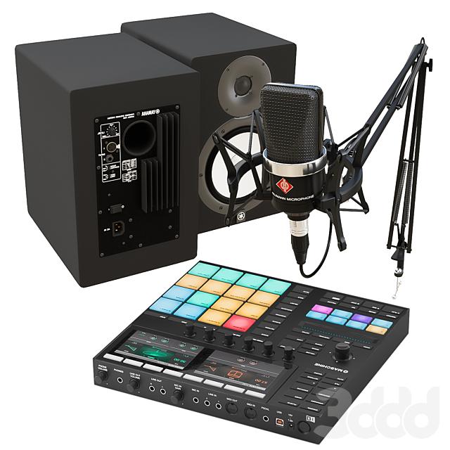 Набор для звукорежиссера, блогера, музыканта.
