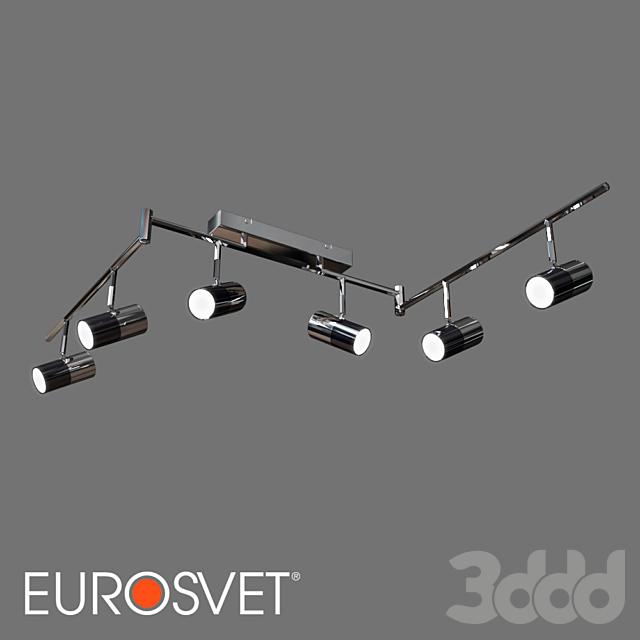 ОМ Потолочный светодиодный светильник Eurosvet 20086/6 Mini Topper