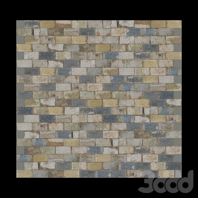 CIR Havana Old Havana Mix 20x10 Tile Set
