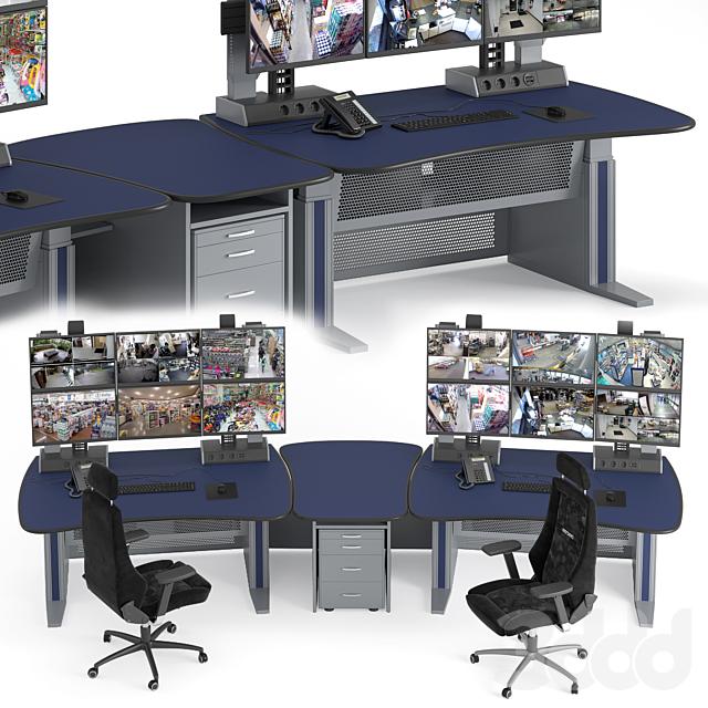 Vertiv Knurr Ergocon диспетчерский стол и консоль