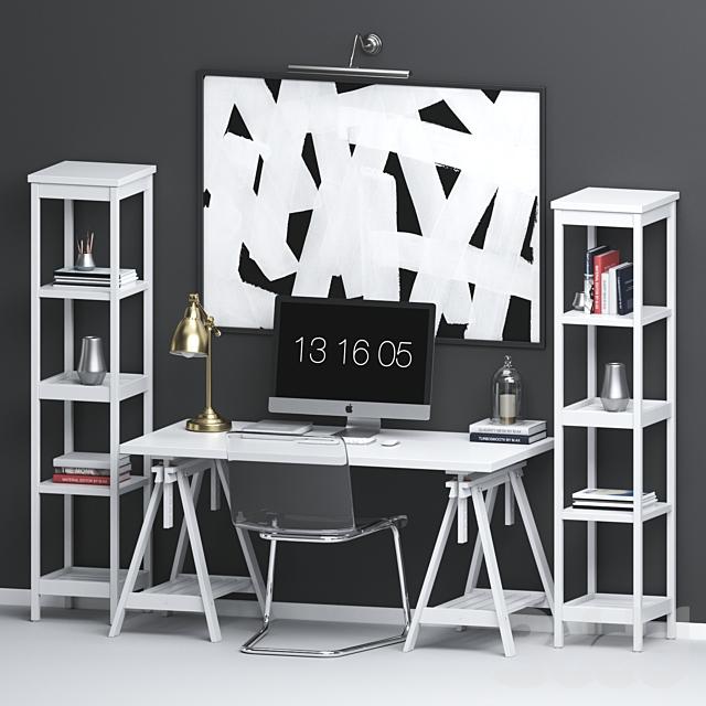 Ikea workplace set