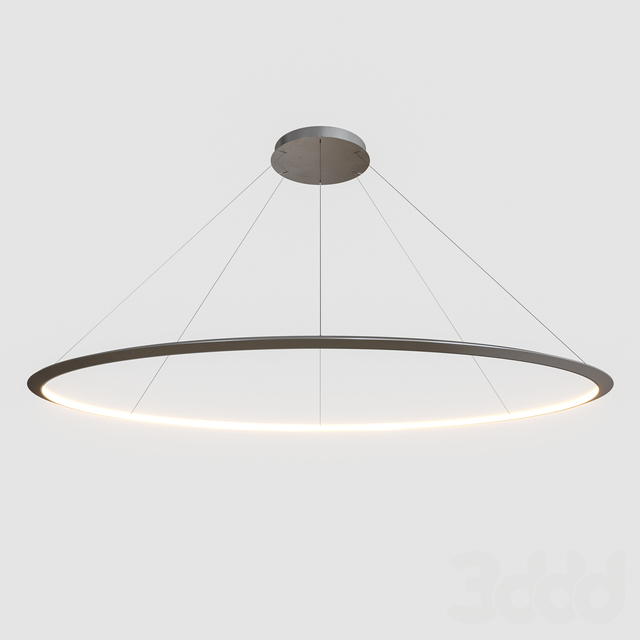 Circular Suspended Lamp by GROK v1