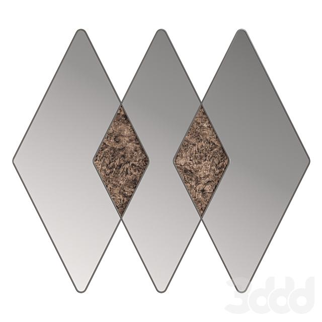 Rossato BLAZE mirror