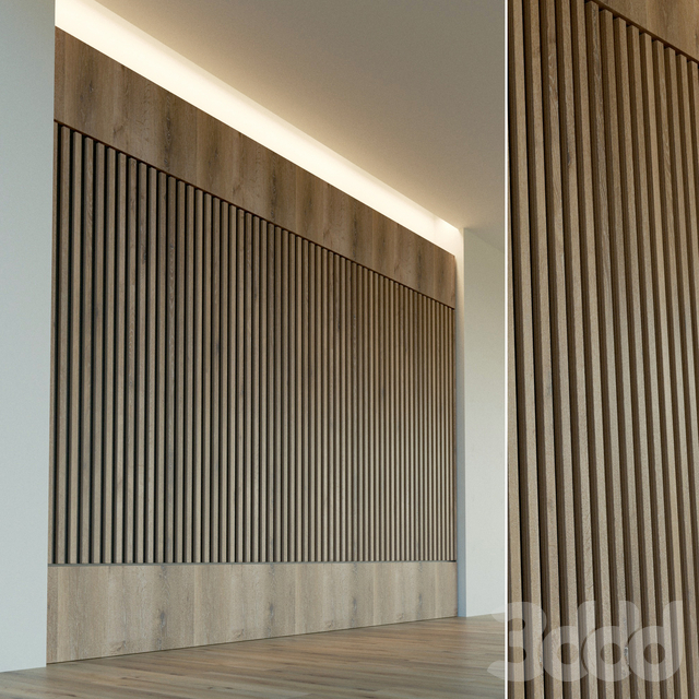 Стеновая панель из дерева. Декоративная стена. 34
