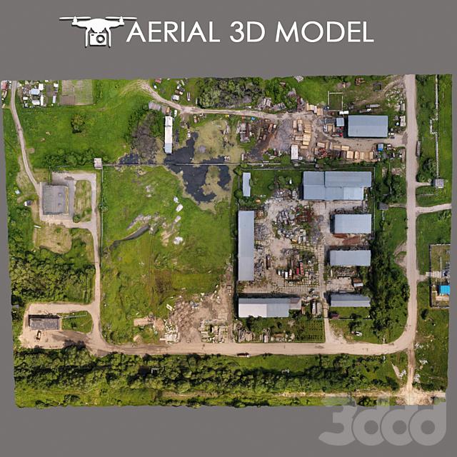 Aerial scan 5