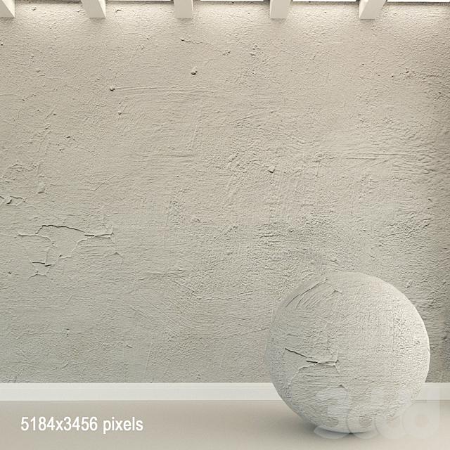 Бетонная стена. Старый бетон. 108