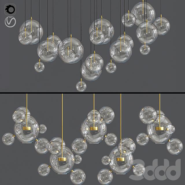 Bolle Ceiling Light Set