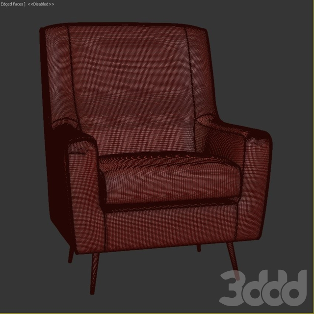 Hassler Mid Century Arm Chair