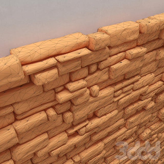 Wall made of decorative stone / Стена из декоративного камня