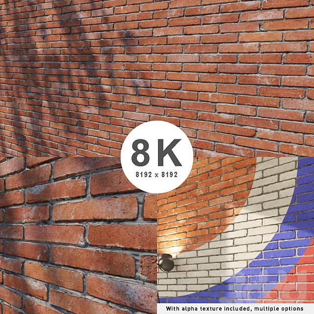 Custom brick wall 8K