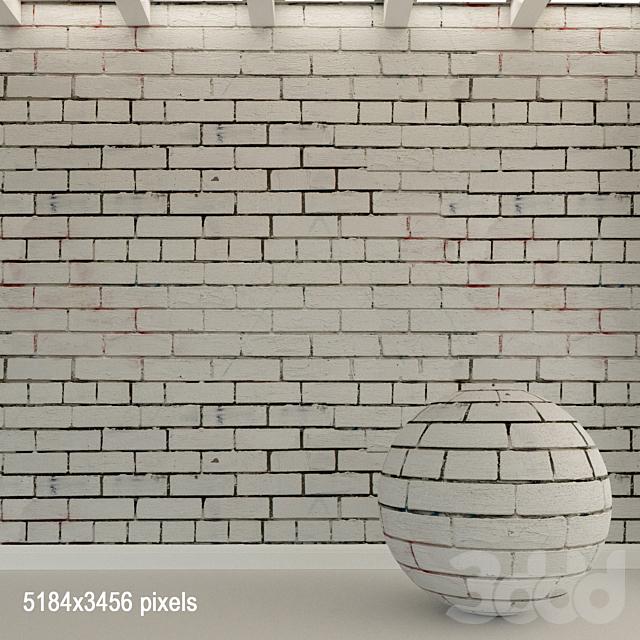 Кирпичная стена. Старый кирпич. 88